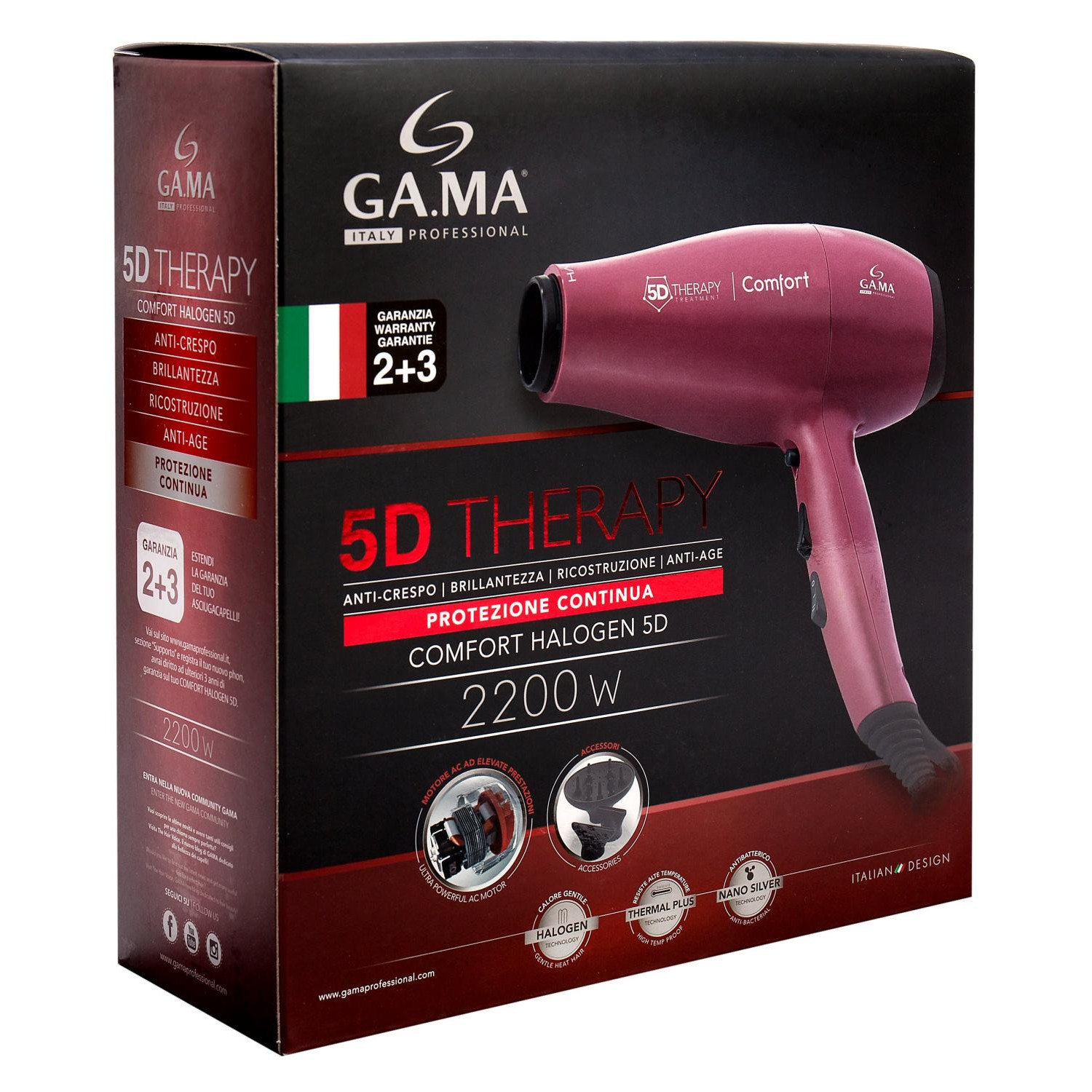 Ga.Ma Comfort Halogen 5D Therapy (GH 0501)