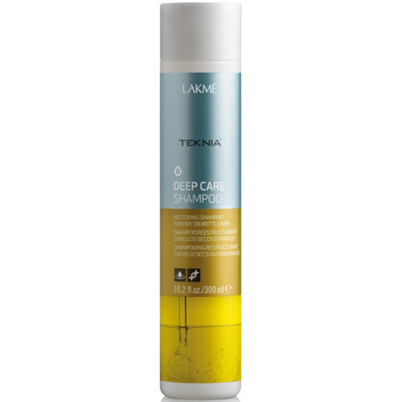 Шампунь для сухих и повреждённых волос LAKME Teknia Deep Care 300 мл
