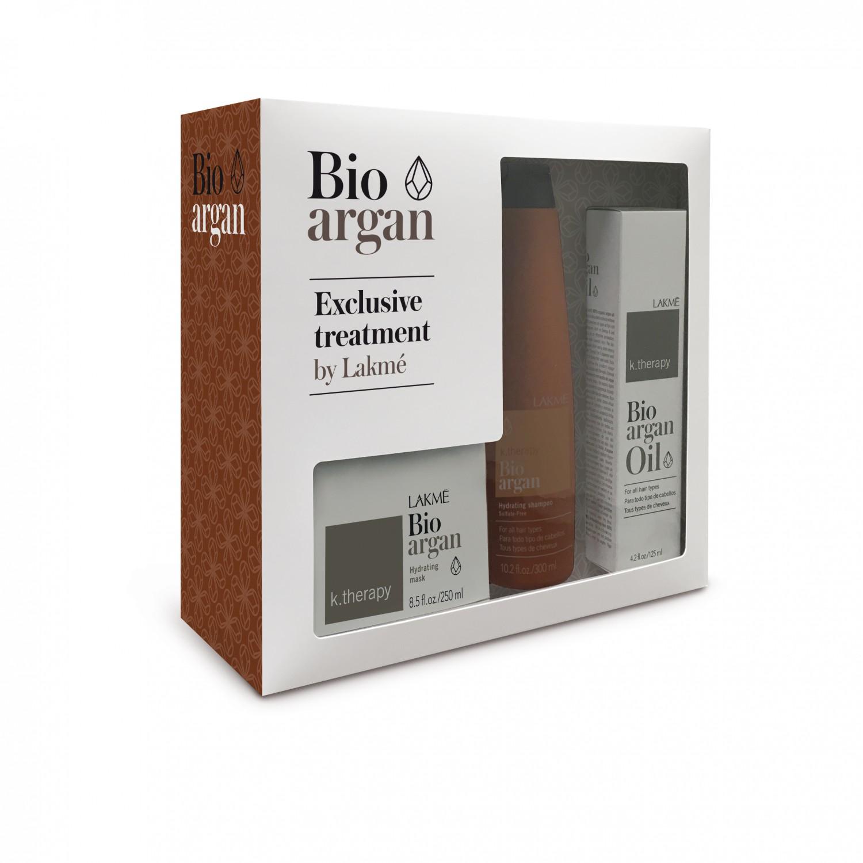Набор для восстановления волос Lakme Bio-Argan