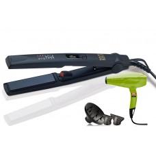 SPK5011 Набор Щипцы CP1DGTION + Фен PL5500.VR зеленый