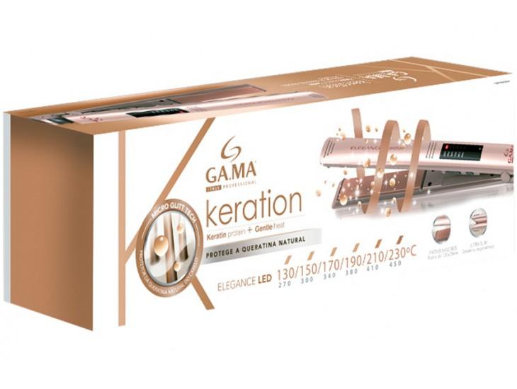 Щипцы выпрямитель волос Ga.Ma Elegancel Keration GI 0210